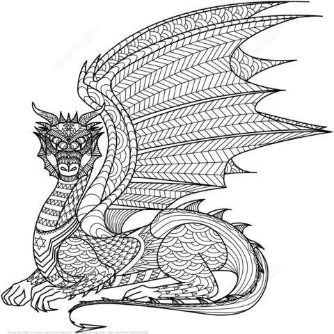 40 dragons bilder zum ausdrucken - besten bilder von ausmalbilder