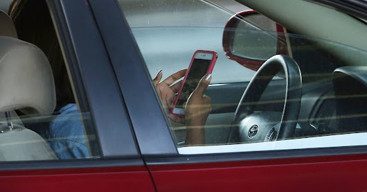 Driving while distracted comes with a 'hangover' effect, AAA says