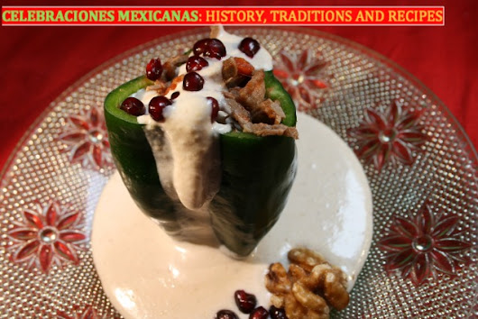 Seasonal specialty: Chiles en Nogada