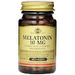 Solgar Melatonin Tablets, 10 mg, 60 Count