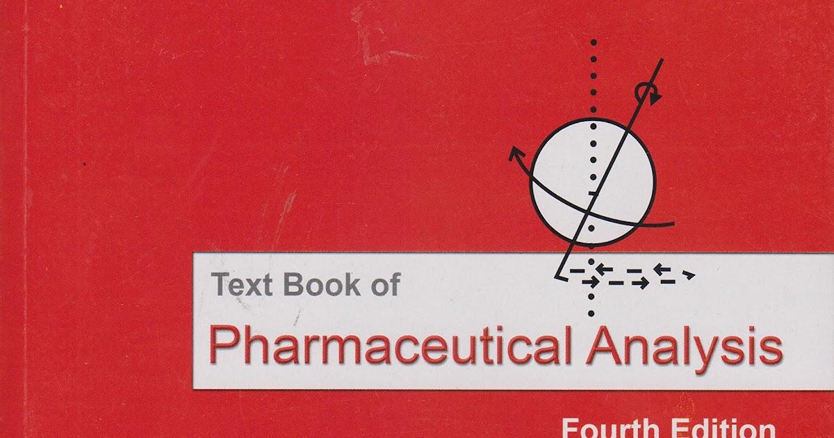 textbook of pharmaceutical analysis by ravi shankar pdf download