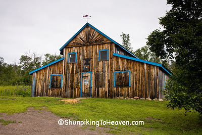 Burton Forge Blacksmith Shop, Lake County, Minnesota