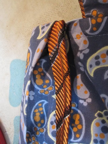 Fold Placket Over to Front, Encasing Piping