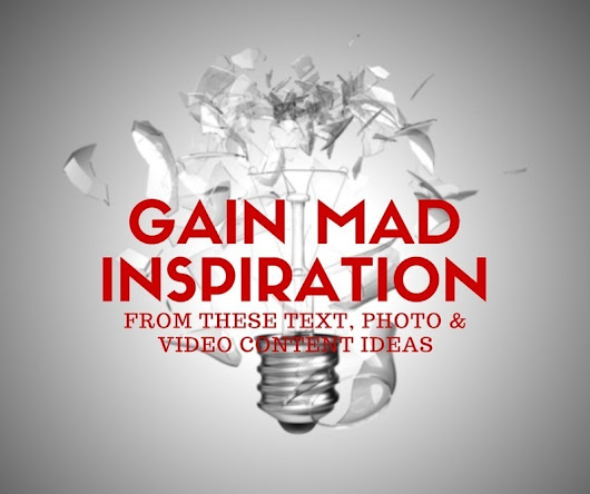 Gain MAD Inspiration From These Content Ideas |...