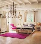 Country Living Inspirational Bedroom Fuschia Area Rug | Daily ...