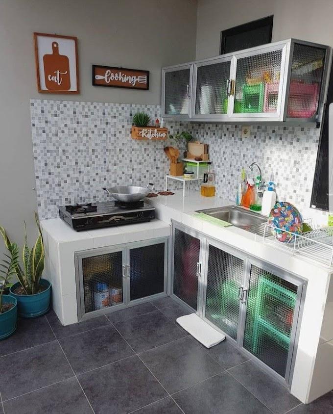 Dekorasi Dapur Kecil Sederhana | Ide Rumah Minimalis