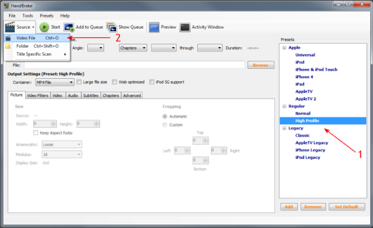 How to rip Blu-ray to MP4 with H264 video using Handbrake – XVideo