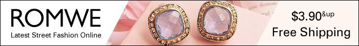 shop romwe jewelery online, free shipping
