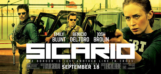 Sicario is a brutal piece of cinema - Read John's review today.
