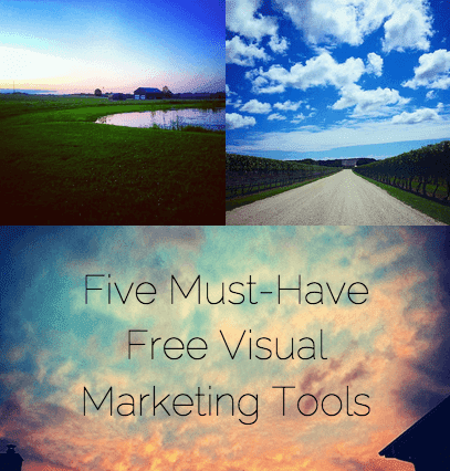 Five Must-Have Free Visual Marketing Tools by @jessostroff