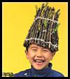 Stick Hats Nature Craft for Children