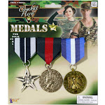 Military Medals (Set of 3)