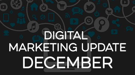 Digital Marketing Update - December 2016 | WebRanking