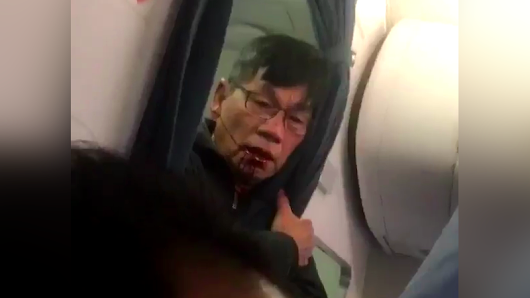 'Just Kill Me': Horrifying New Video Shows United Passenger Drooling Blood
