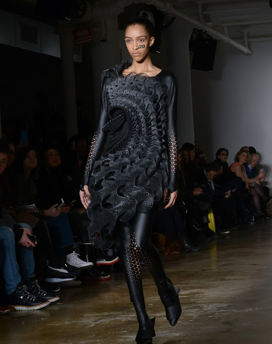 Stratasys Attempts A Breakthrough In 3D Printed Fashion