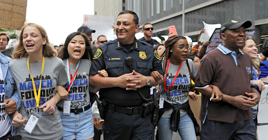 Houston Police Chief Says He Has 'Hit Rock Bottom' on Gun Rights Arguments