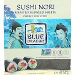 Blue Dragon Sushi Nori - Case Of 10 - .77 Oz