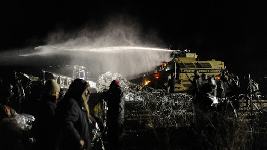 Police Attack Protesters Last Night At Standing Rock
