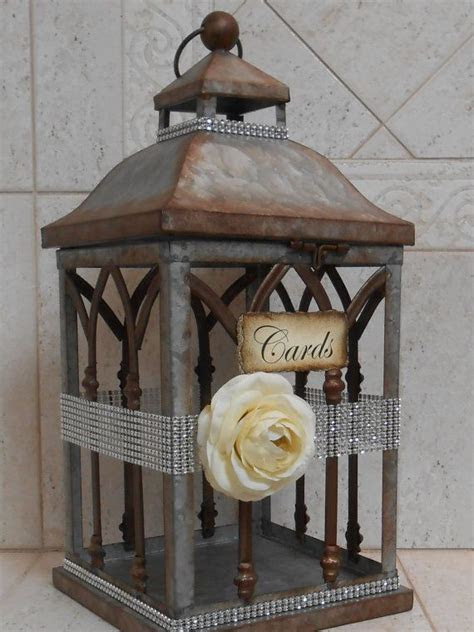 Best 25  Lantern card box ideas on Pinterest   Wedding
