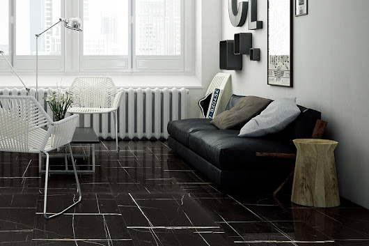 Klinker Laurent Black 60X90 - Kakel Online-Tiles R Us AB