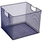 """8"""" X 10"""" X 11"""" Wire Decorative Toy Storage Bin Navy - Pillowfort , Size: 8"""" X 11"""" X 10"""", Blue"""