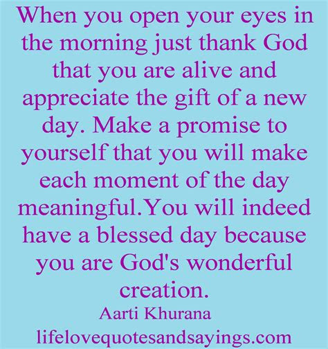 Thank God Its A New Day Quotes
