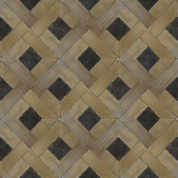 Traditional pattern. Zenati & Edri Parquet 19 Finish: Larochette with Belgian Blue Stone