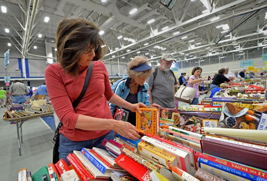 5 cool facts about the Lancaster Public Library benefit book sale
