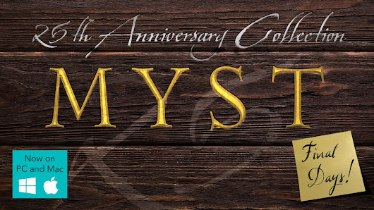 Update 23: 1000% Achieved! 24 Hours Left! (...and Compatibility and Localization) · Myst 25th Anniversary Collection