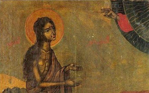 Αποτέλεσμα εικόνας για maria egipteanca icoana