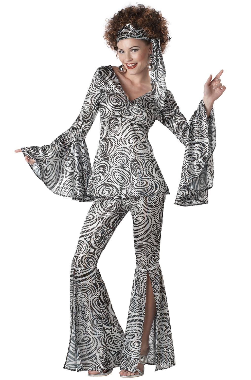 women foxy lady 70's hippy retro disco adult costume  ebay