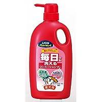 毎日でも洗える愛犬用リンスインシャンプー フローラルの香り ポンプ750ml