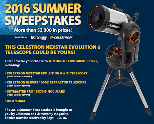 Win a NexStar Evolution 6 telescope!