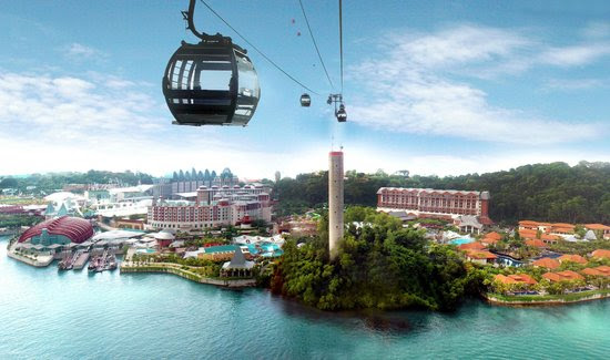 Singapore Cable Car Location Map,Location Map of Singapore Cable Car,Singapore Cable Car accommodation destinations attractions hotels map reviews photos pictures