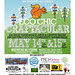 Eco Chic Craftacular event flyer