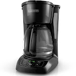 Black + Decker 12 Cup Automatic Drip Coffee Maker - Black