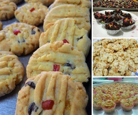 koleksi resipi aneka biskut raya berasaskan cornflaskes