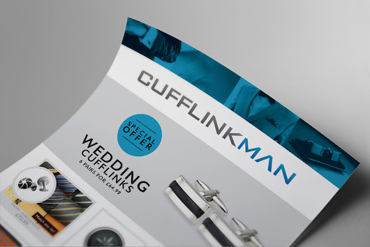 It's all about the product! A stylish design for Cufflinkman.