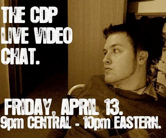 The CDP Live Video Chat!