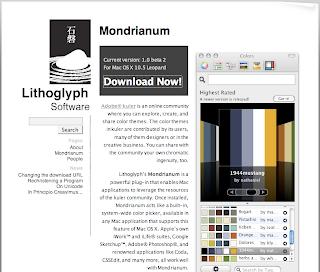 Mondrianum, inserite kuler in Photoshop