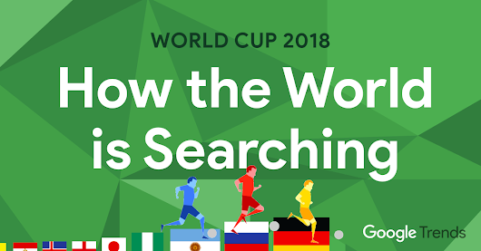 World Cup 2018: How Every Country is Searching