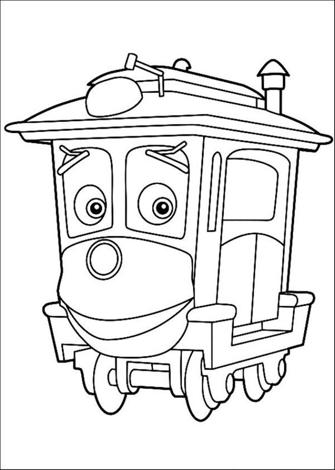5600 Chuggington Coloring Pages To Print Pictures