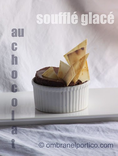 Soufflé glacé al cioccolato fondente