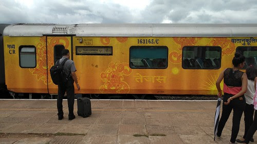 All aboard the Tejas Express · Happy Feet!