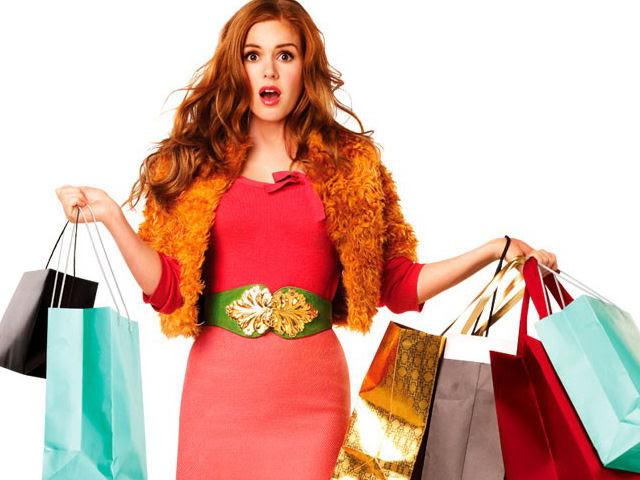 Risultati immagini per isla fisher i love shopping