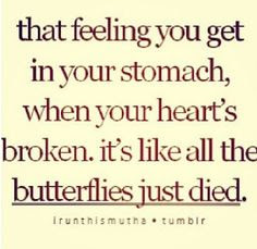 Goodbye butterflies <|3