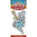 Vintage Tattoos, 1910 Snake/Dagger
