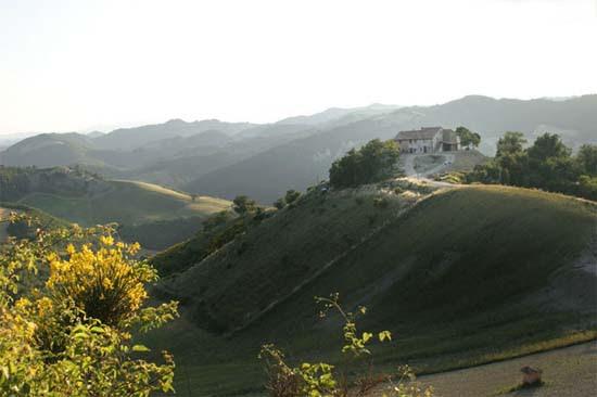 Urbino, Agriturismo Girfalco, marchei panoráma