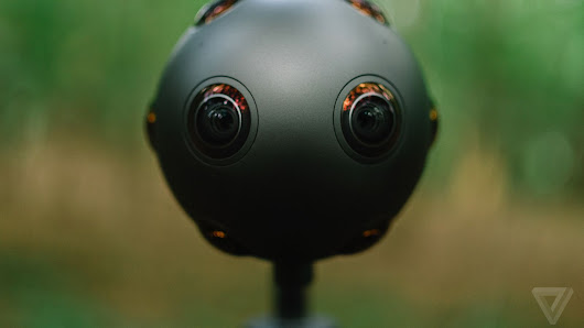 Nokia reveals Ozo, a futuristic new camera for filming virtual reality