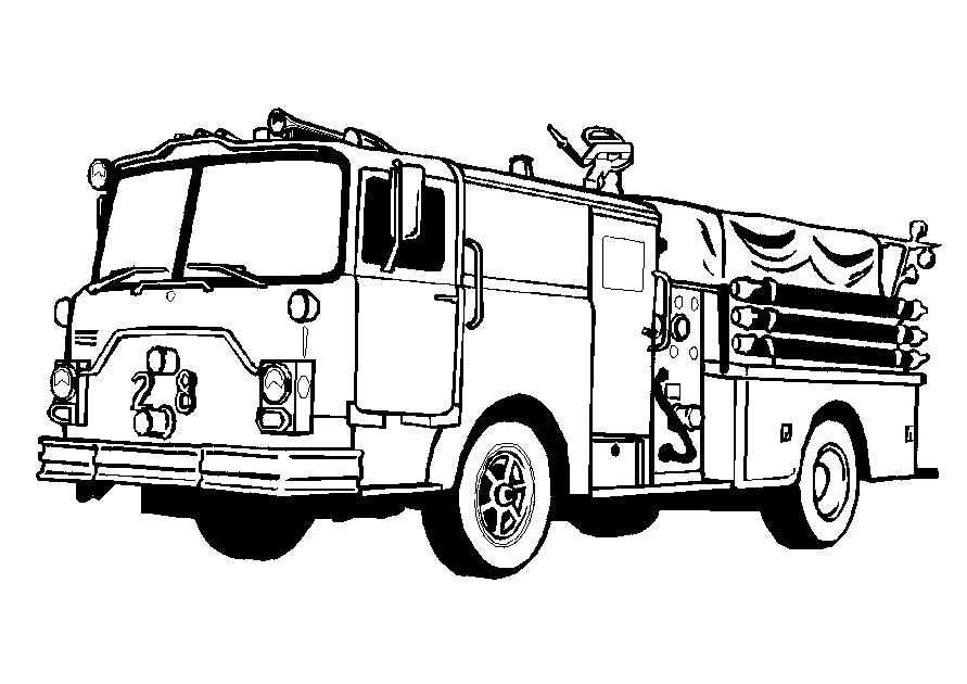 Truck Coloring Pages  Coloringpages1001.com